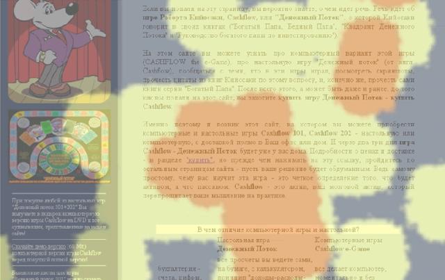Анализ сайта на основе визуализации поведения его посетителей