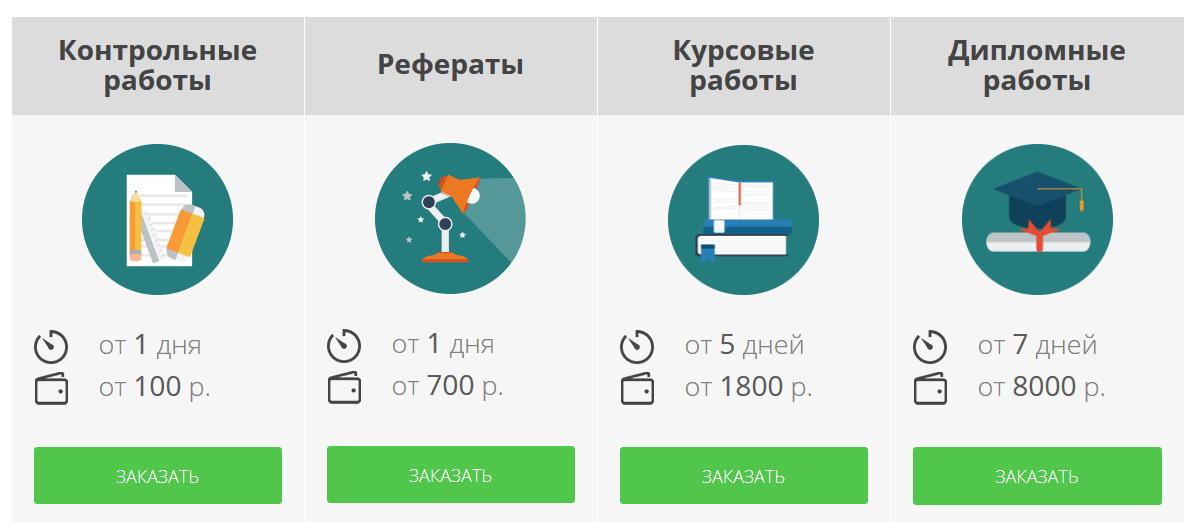 Сайт заочник - интерфейс